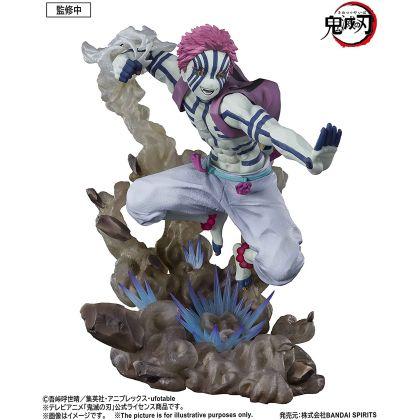 BANDAI Figuarts Zero Demon Slayer (Kimetsu no Yaiba): Mugen Ressha - Akaza Upper Rank Three Figure