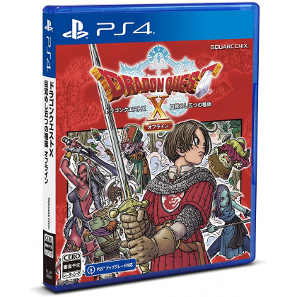 SQUARE ENIX - Dragon Quest X: Mezameshi Itsutsu no Shuzoku Offline for Sony Playstation PS4