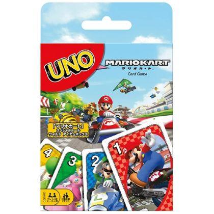 MATTEL - Card Game UNO Mario Kart GWM70