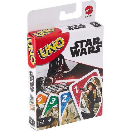 MATTEL - Jeu de Cartes UNO Star Wars GPP00