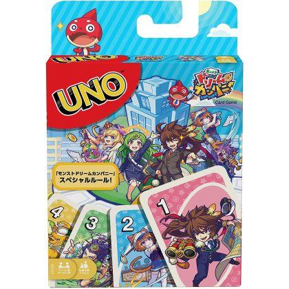 MATTEL - Card Game UNO Monster Dream Company GDJ91