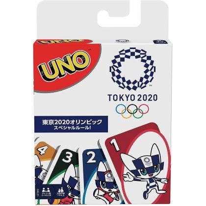 MATTEL - Jeu de Cartes UNO Tokyo Olympic Games 2020 GNL01