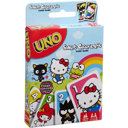 MATTEL - Card Game UNO Sanrio Characters FXW07