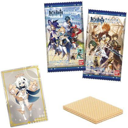BANDAI - Genshin Wafers Collection Box
