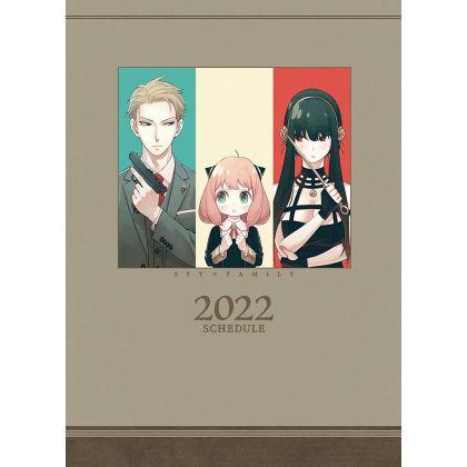 ENSKY - SPY×FAMILY - Schedule Book 2022