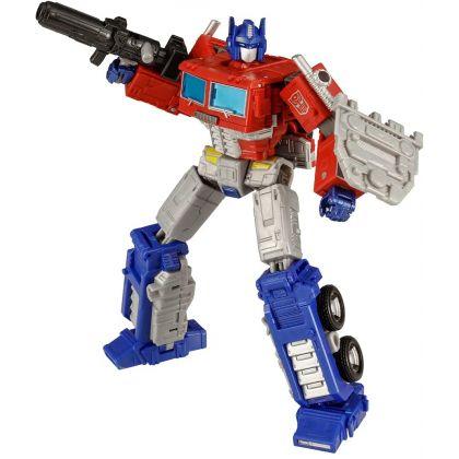 TAKARA TOMY Transformers Kingdom Series KD-19 Optimus Prime with Trailer