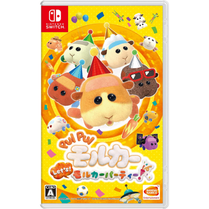 BANDAI NAMCO - PUI PUI Molcar Let's! Molcar Party! for Nintendo Switch