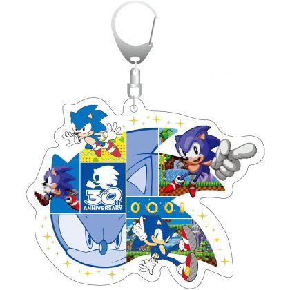 Sonic the Hedgehog - 30th Anniversary Acryl Key Holder