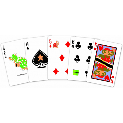 NINTENDO - Mario Trump Playing Cards NAP-01 Pixel Version