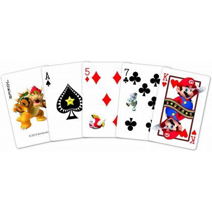 NINTENDO - Mario Trump Playing Cards NAP-03 Neon Version
