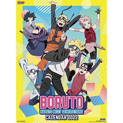 ENSKY - BORUTO Naruto Next Generations - Comic Calendar 2022 CL-21