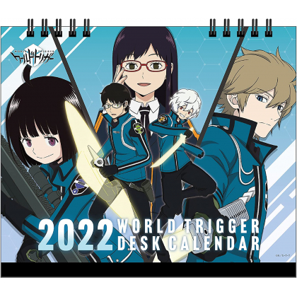 ENSKY - World Trigger - Desk Calendar 2022 CL-15