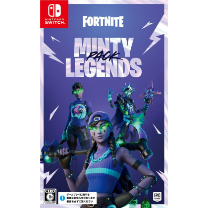 EPIC GAMES - Fortnite: Minty Legends Pack for Nintendo Switch
