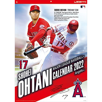 ENSKY - Shohei Ohtani - Baseball Calendar 2022 CL-556