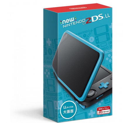 New Nintendo 2DS LL Black x Turquoise