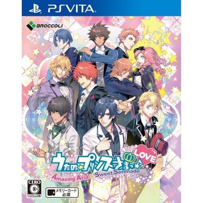 Broccoli Uta no Prince Sama Amazing Aria & Sweet Serenade Love PS Vita SONY Playstation