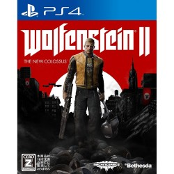 Wolfenstein II The New Colossus FPS SONY PS4 PLAYSTATION 4