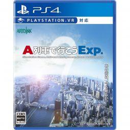 Artdink A-Train de Ikou Exp. SONY PS4 PLAYSTATION 4