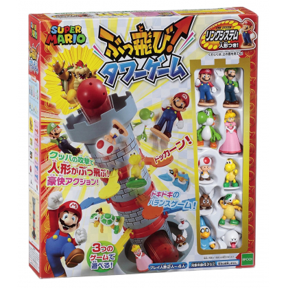 Epoch Super Mario  Nintendo Tower Game