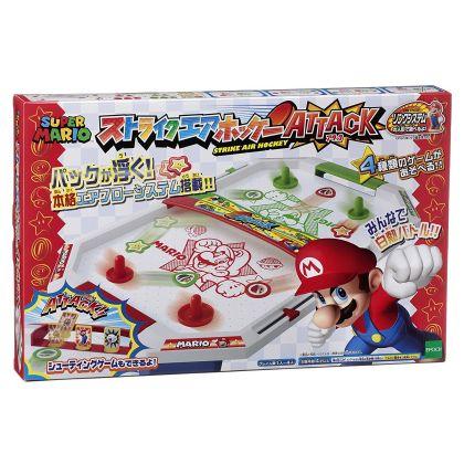 Epoch Super Mario Strike  Air Hockey Attack Nintendo