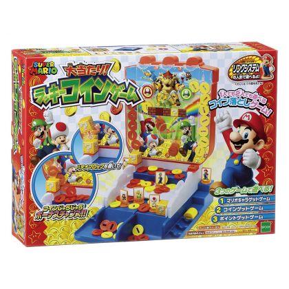 Epoch Super Mario Hit Lucky Coin Game Nintendo