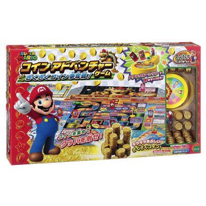 Epoch Super Mario Coin adventure Game  zakuzaku Kinniku Coin Nintendo