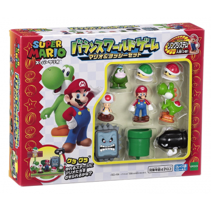 Epoch Super Mario Balance-Rude Game  Mario & Yoshi Set  Nintendo
