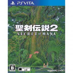 Square Enix Seiken Densetsu 2 Secret of Mana PS Vita SONY Playstation