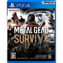 Konami Metal Gear Survive SONY PS4 PLAYSTATION 4