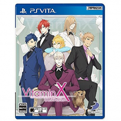 D3 Publisher Vitamin X Destination PS Vita SONY Playstation