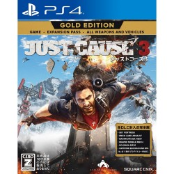 Square Enix Just Cause 3 Gold Edition SONY PS4 PLAYSTATION 4