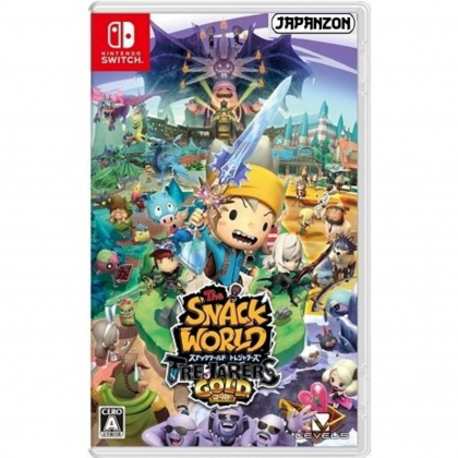 Level 5 The Snack World Trejarers Gold NINTENDO SWITCH