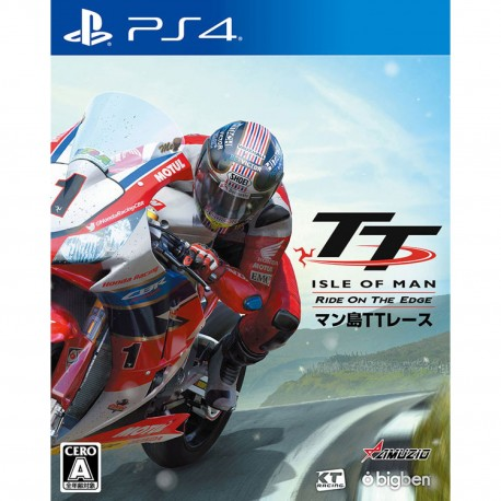 Intergrow Man Shima TT Race Ride on the Edge SONY PS4 PLAYSTATION 4