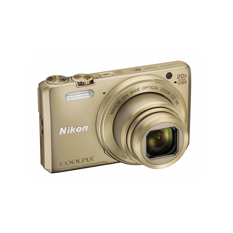 nikon coolpix s7000 gold appareil photo num rique compact. Black Bedroom Furniture Sets. Home Design Ideas