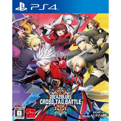 ARC SYSTEM WORKS Blazblue Cross Tag Battle SONY PS4 PLAYSTATION 4