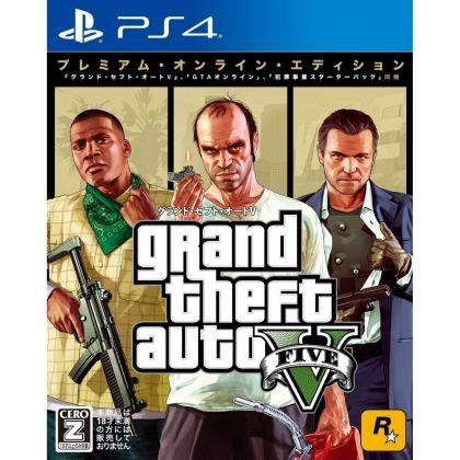 Rockstar GamesRockstar Games  Grand Theft Auto Ⅴ Premium Online Edition SONY PS4 PLAYSTATION 4