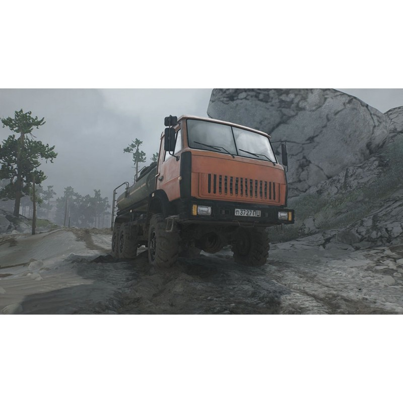 oizumi amuzio spintires mudrunner sony ps4 playstation 4. Black Bedroom Furniture Sets. Home Design Ideas