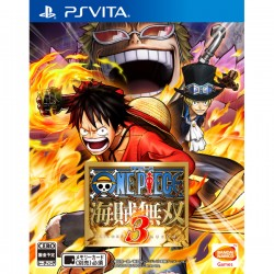One Piece : Pirate Warriors 3  KAIZOKU MUSOU  PS VITA