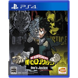 Bandai Namco Games Boku no Hero Academia One's Justice SONY PS4 PLAYSTATION 4