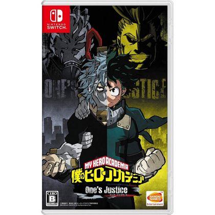 Bandai Namco Games Boku no Hero Academia One's Justice NINTENDO SWITCH