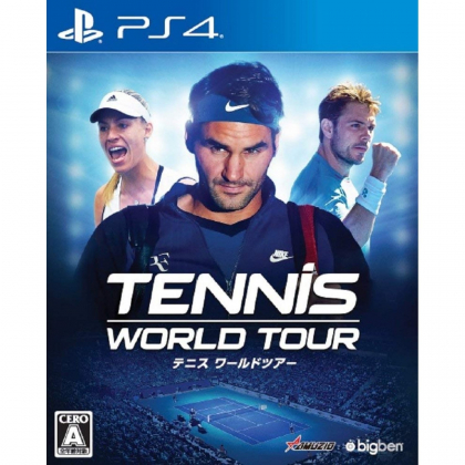 Oizumi Amuzio Tennis World Tour SONY PS4 PLAYSTATION 4