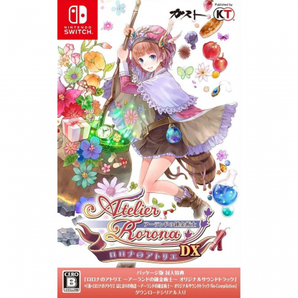Gust Atelier Rorona The Alchemist of Arland DX NINTENDO SWITCH