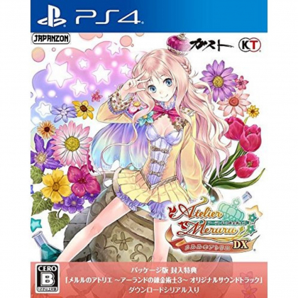 Gust  Atelier Meruru The Apprentice of Arland DX SONY PS4 PLAYSTATION 4