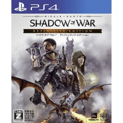 Warner  Games Middle earth Shadow of War SONY PS4 PLAYSTATION 4