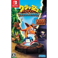 Sega Crash Bandicoot Buttobi San-dan Mori (Bonus Edition) NINTENDO SWITCH