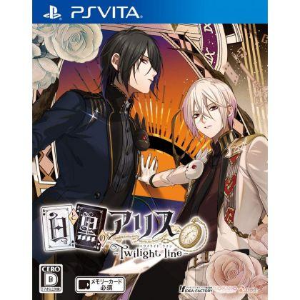 Idea Factory Shiro to Kuro no Alice Twilight Line PS Vita SONY Playstation