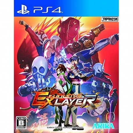 Arika Fighting EX Layer SONY PS4 PLAYSTATION 4