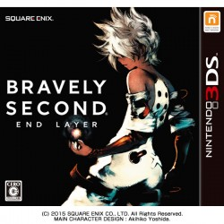 SQUARE ENIX BRAVELY SECOND NINTENDO 3DS