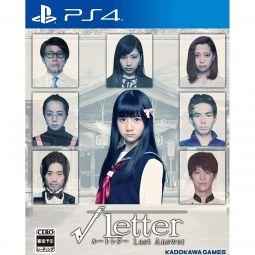 Kadokawa Games Root Letter Last Answer SONY PS4 PLAYSTATION 4