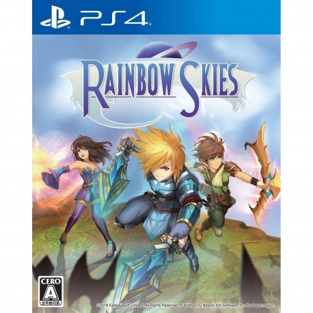 Nippon Ichi Software Rainbow Skies SONY PS4 PLAYSTATION 4